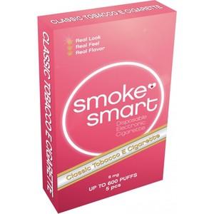 illustrasjonsbilde rosa pakke med e-sigaretter classic