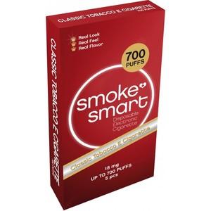 illustrasjonsbilde rød pakke med e-sigaretter classic