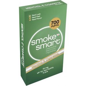 illustrasjonsbilde pakke med e-sigaretter med mentol