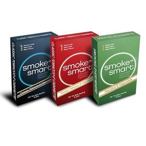 illustrasjonsbilde tre pakker med e-sigaretter dark, classic og mentol