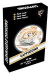 illustrasjonsbilde pakke med e-sigaretter med cappuccino