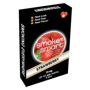 illustrasjonsbilde pakke med e-sigaretter med jordbær